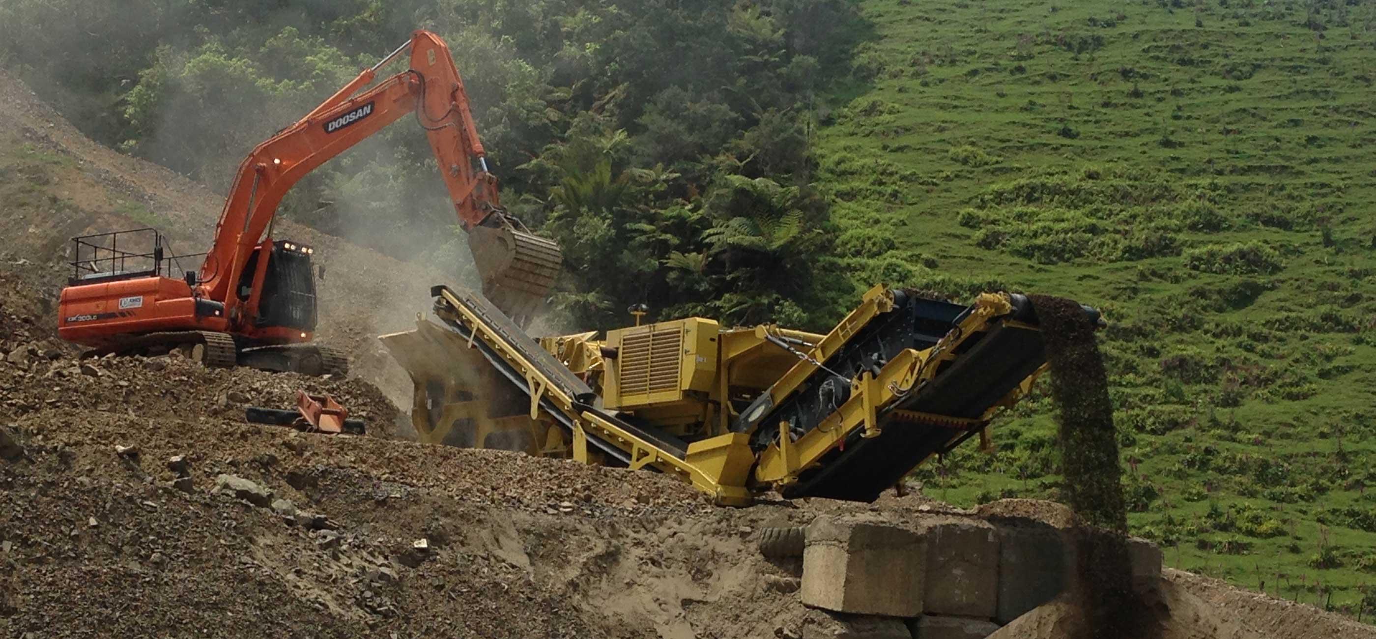 New plymouth quarry taranaki jones quarry ltd for Landscaping rocks new plymouth
