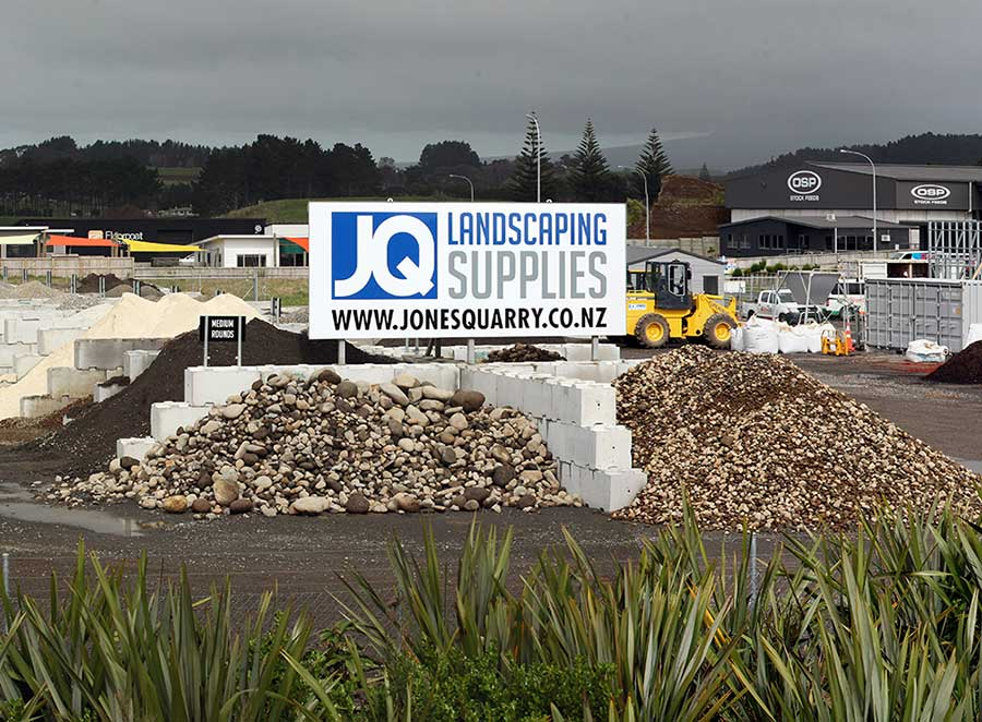 Landscaping Products - Stone, Sand, Clay & Topsoil | Jones